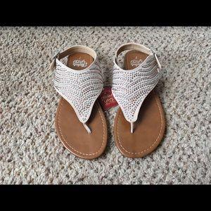 NWT Jeweled Sandals